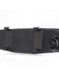 1080p rétroviseur 4,3 pouces lentille double bleu hd lentille vision nocturne grand angle 170 parking lecteur de surveillance enregistreur