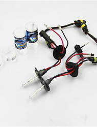 The New HID Xenon Lamp 12V55W High Pressure Ultra Thin Auto Xenon Headlight Set