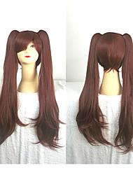 80 centímetros anime Akazawa Izumi de outra peruca cosplay longos castanhos rabos de cavalo traje wig2 sintéticas