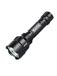 Lights LED Flashlights/Torch LED 250 Lumens 3 Mode Cree XP-E R2 18650 Rechargeable / Compact Size Camping/Hiking/Caving / Everyday Use