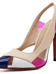 Women's Heels Spring / Summer / Fall / Winter Comfort PVC / Leather Wedding / Dress Stiletto Heel Slip-on