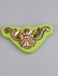 Vintage European relief cake decorated with silicone mold Kitchen Baking tools Color Random