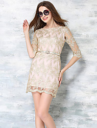 Women's Going out / Party/Cocktail / Holiday Vintage / Street chic / Bodycon Dress
