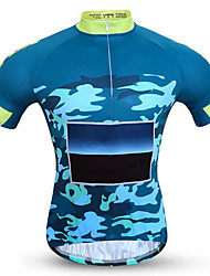 Sports Bike/Cycling Clothing Sets/Suits Men's Short Sleeve Breathable / Quick Dry / Comfortable Coolmax Classic