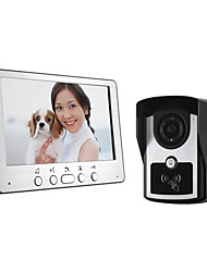 Aluminum Panel Drawing Card Type Waterproof Infrared Night Vision Function Of A Visible Doorbell