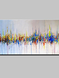 Large Size Hand-Painted Modern Abstract Oil Paintings On Canvas For Home Decoration With Stretched Frame Ready To Hang