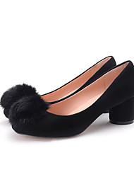 Women's Heels Spring / Summer / Fall Heels / Round Toe / Closed Toe  Casual Chunky Heel Others Walking