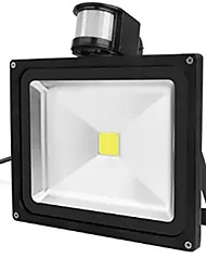 30W IP65 Waterproof Led Floodlight Project Lamp PIR Motion detective Sensor (AC85-265V)