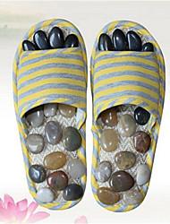 Women's Slippers & Flip-Flops Summer Slingback Linen Casual Flat Heel Others Yellow Pink Others