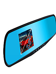 The 2.8 Inch Screen Insurance Gifts Rearview Mirror Tachograph 120 Wide-Angle Rearview Mirror First Rambo