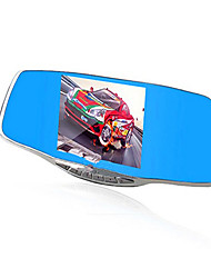 Front And Rear Dual Camera Mirror Driving Recorder 1080P HD