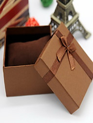 Jewelry Boxes Paper 1pc Coffee