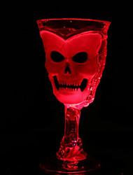 Halloween barre de coupe lumineuse fournitures ktv couleur LED boisson lumineuse tasse  de couleur décoration fournitures aléatoire