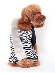 Cães Fantasias / Macacão Preto / Marrom / Rosa Roupas para Cães Inverno / Primavera/Outono Animal Fofo / Fantasias