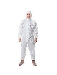blanc à capuchon anti-particules de taille des vêtements de protection antistatique l