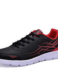 Men's Fashion Sports Shoes EU38-45 Microfiber Ultralight Sneakers Running Shoes Plus Size