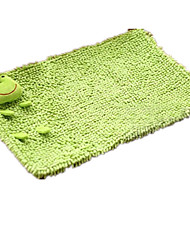 animais bonitos dos desenhos animados chenille tapete tapete de porta tapete esteira a toalha