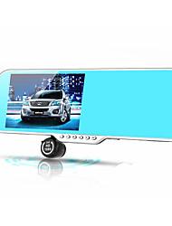 140 degrés 5 pouces vision double lentille HD de nuit de 12 millions de pixels véhicule de navigation enregistreur