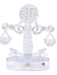 Quebra-cabeças Quebra-Cabeças 3D / Quebra-Cabeças de Cristal Blocos de construção DIY Brinquedos 42pcs PlásticoModelo e Blocos de