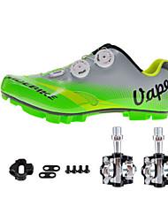 Sapatilhas de Ciclismo com Travas & Pedal Unisexo Almofadado Bicicleta De Montanha