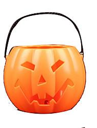 Artigos de Halloween Abóbora Festival/Celebração Trajes da Noite das Bruxas Laranja Patchwork Mais Acessórios Dia Das Bruxas Unisexo