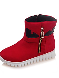 Women's Boots Fall / Winter Platform / Snow Boots / Fashion Boots Leatherette Party & Evening / Casual Platform Zipper