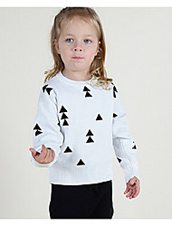 Girl's Casual/Daily Geometric Sweater & CardiganCotton Winter Black