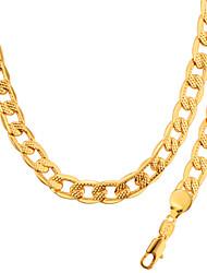 Fashion Jewelry Wholesale Men & woman Necklace & Bracelet Jewelry 18K Gold Plated NB60041