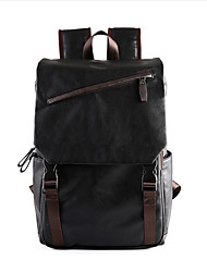 Men PU Formal / Casual / Office & Career Backpack