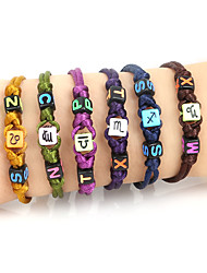 Bracelet Bracelets de rive Acrylique / Gemme Formé Carrée / Forme de Lettres Ajustable / Inspiration Quotidien / Décontracté / Sports