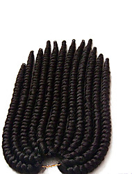 100% Kanekalon fiber Synthetic crochet braids 2X Havana Mambo Twist Hair Braids with Free Crochet Hook