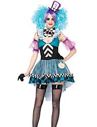 Costumes de Cosplay Bal Masqué Costume de Soirée Burlesques Fête / Célébration Déguisement d'Halloween Mosaïque Robe Plus d'accessoires