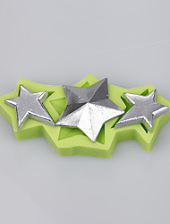 Three-pointed star silicone cake mold decoration chocolate mold fondant cake tools