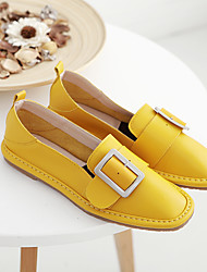 Women's Flats Spring / Summer / Fall Flats PU Casual Flat Heel Others Yellow / White Others