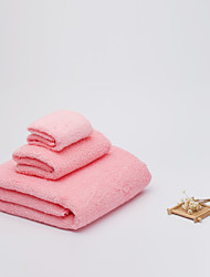 BZHOMEQuilted Cotton Towels Cotton Towel Sets Combination 3Pcs/Set