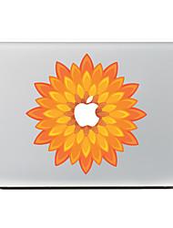 orange Blume Dekorhaut Aufkleber Aufkleber für macbook Luft / pro / Pro mit Retina