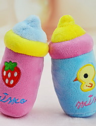 Cat / Dog Toy Pet Toys Plush Toy Squeak / Squeaking / Cartoon Plush Blue / Pink