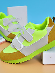 Unisex Sneakers Summer Mary Jane Leather Casual Flat Heel Others Blue / Light Green / Royal Blue Sneaker