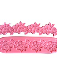 Flower Chain Cake Border Decorating Mold SM-459