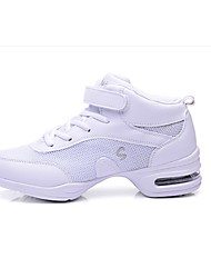 Women's Sneakers Spring / Summer / Fall / Winter Closed Toe Tulle Athletic Flat Heel Lace-up