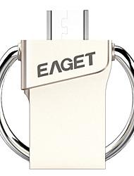 Eaget V80-32G 16GB USB 3.0 Resistente à Água / Encriptado / Resistente ao Choque / Tamanho Compacto / Suporte de OTG (Micro USB)