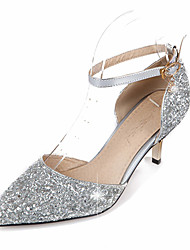 Women's Heels  / Basic Pump / Pointed Toe Wedding / Office & Career / Party & Evening / Dress /