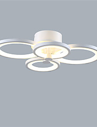 4 heads Modern Style Simplicity Acrylic LED Ceiling Lamp Flush Mount Living Room Dining Room Bedroom light Fixture