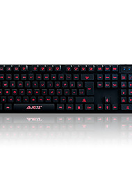 Ajazz Mechanical Warrior 3-Color Backlit Keyboard High-End Mechanical Handle Gaming Backlit Keyboard
