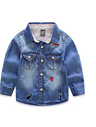 Boy's Casual/Daily Print JeansCotton Spring / Fall Blue
