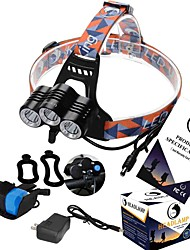 U`King ZQ-X818 Headlamp  LED 3 Mode 3600LM Rechargeable  / High Power  XM-L T6 2x18650