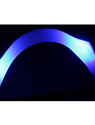 exécuter les lumières à DEL fluorescent anneau bras réfléchissant anneau de pied à la main avec des avertissements vélo lampe