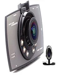 Завод-производитель комплектного оборудования 2,7 дюйма Syntec TF карта Черный Автомобиль камера