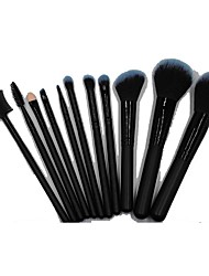 11 Makeup Brushes Set Others Portable Wood Face NFSS