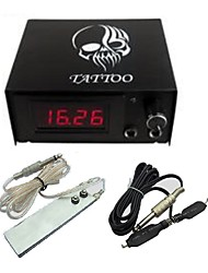 Professional Digital Tattoo Power with plug cord Foot Switch